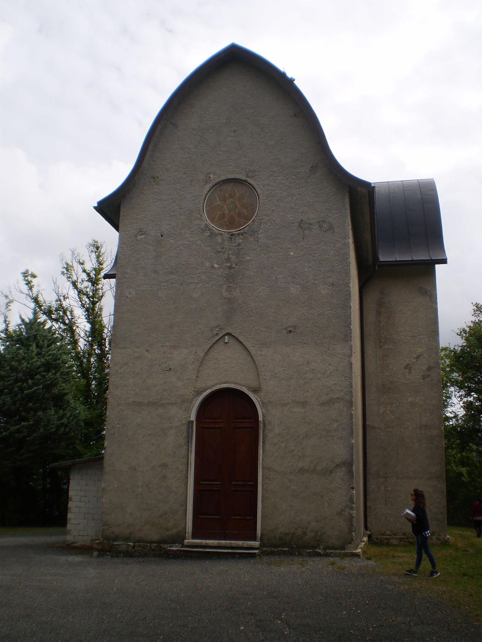 Facciata della Chiesa del Sacro cuore