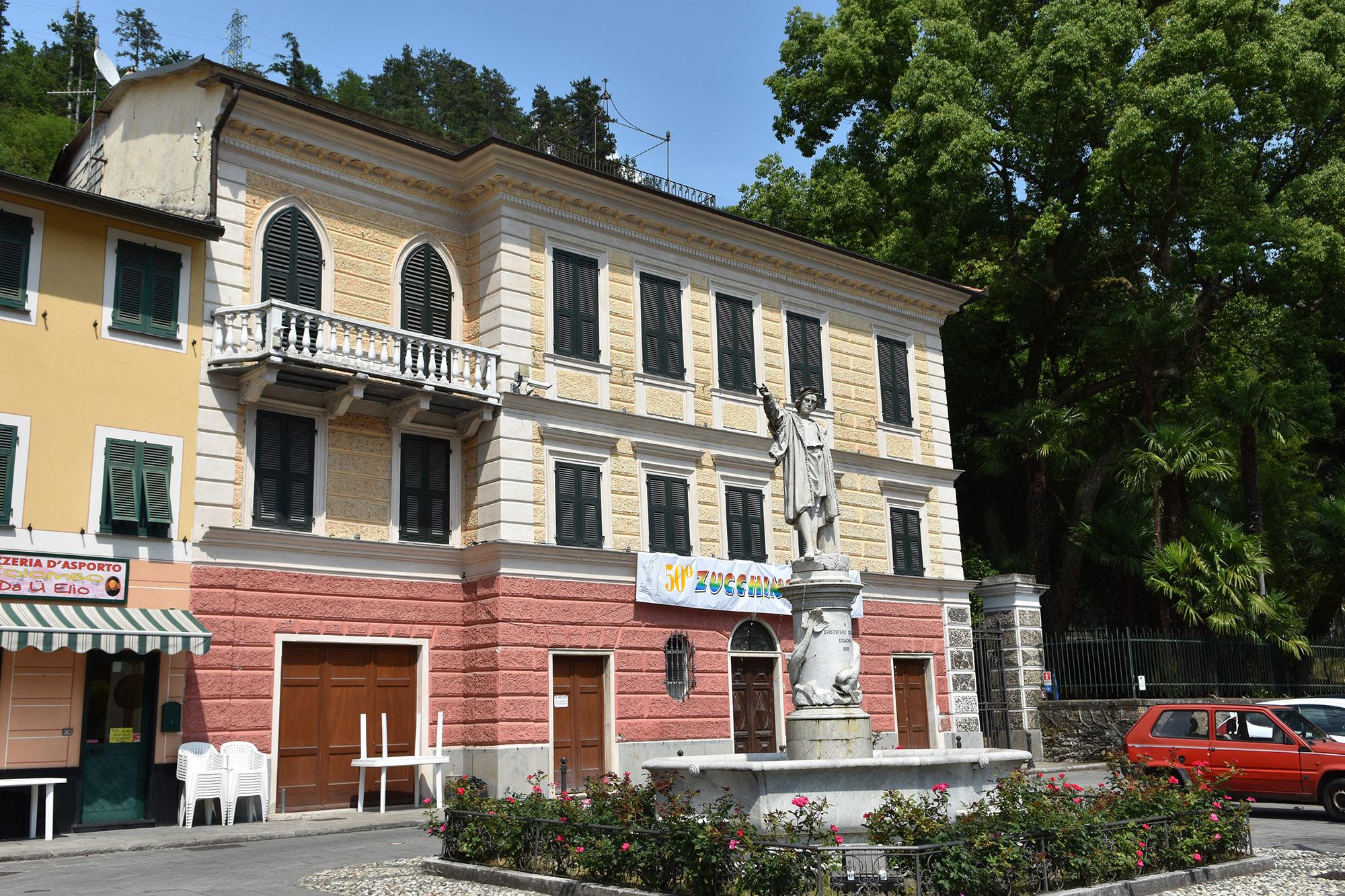 La villa che ospita il museo