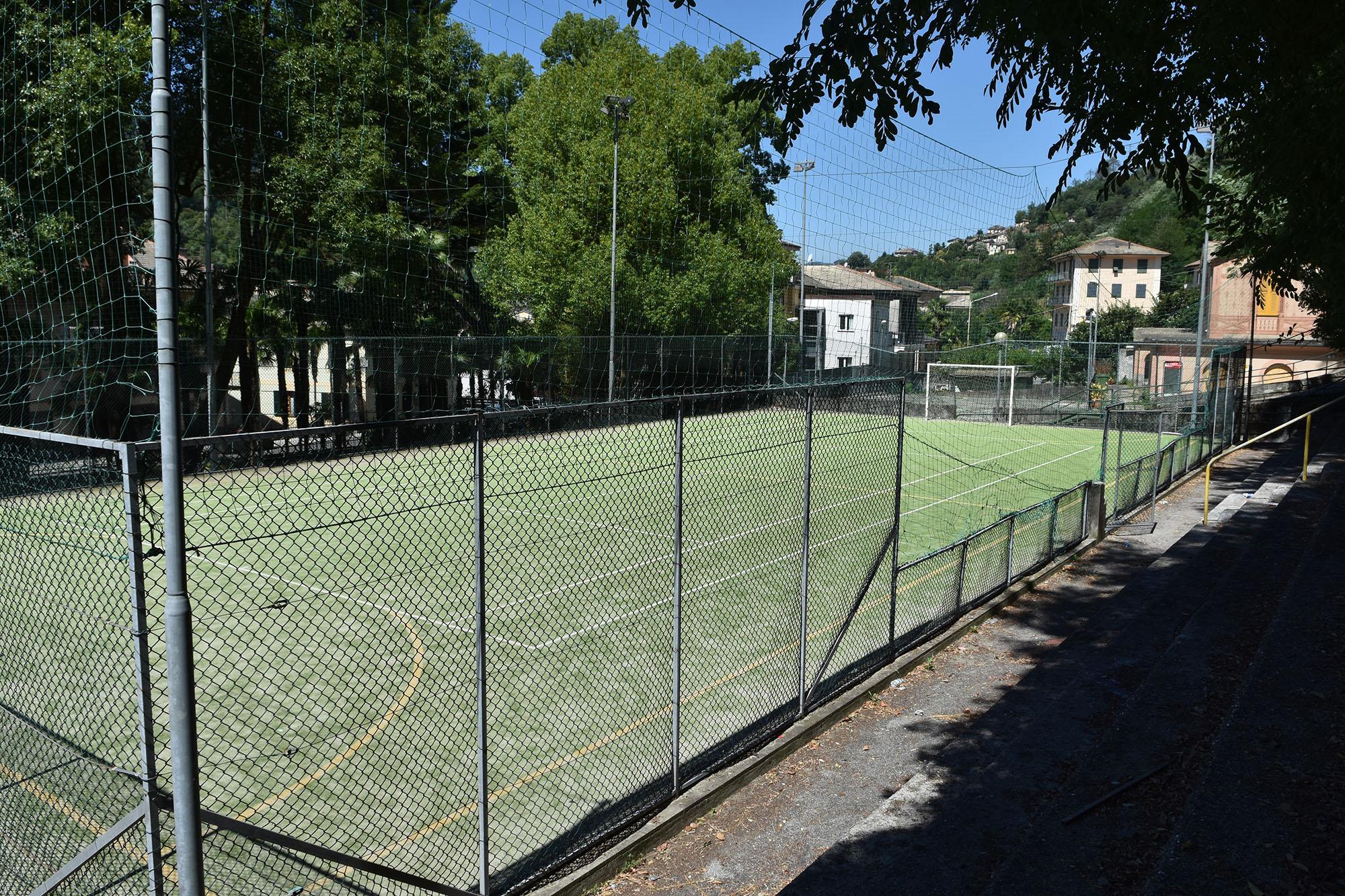 Campo da calcio villa cavagnari