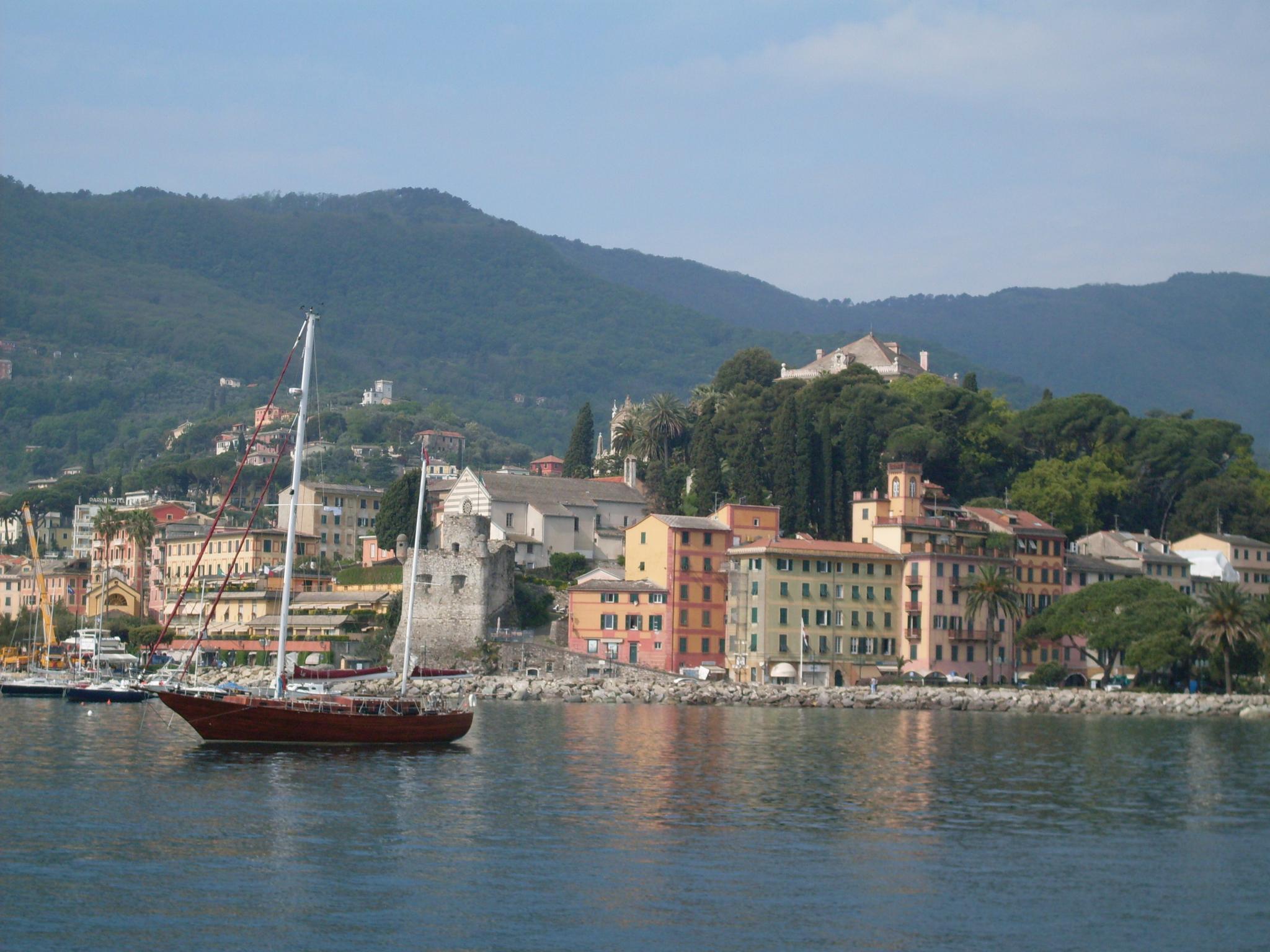 lungomare di Santa Margherita Ligure