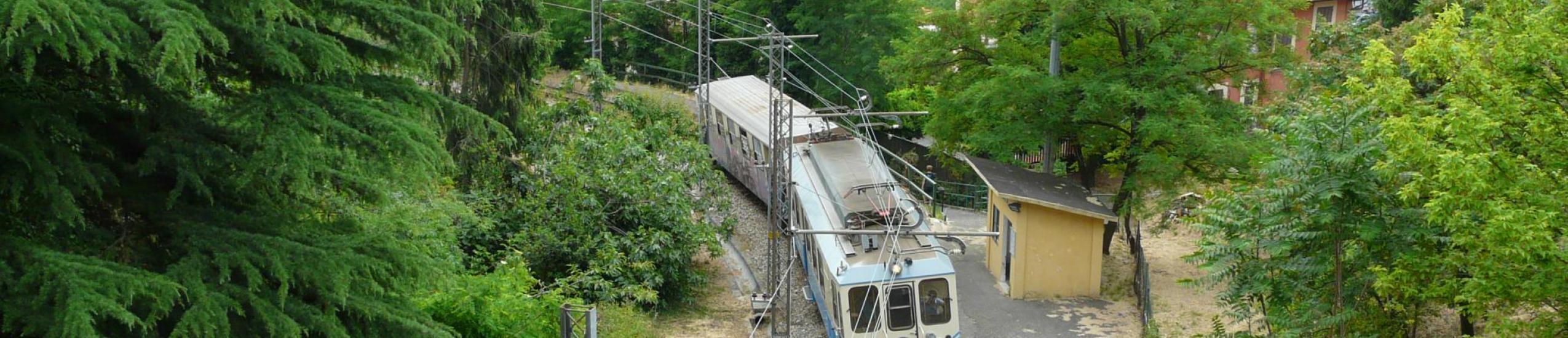 antico trenino di Casella