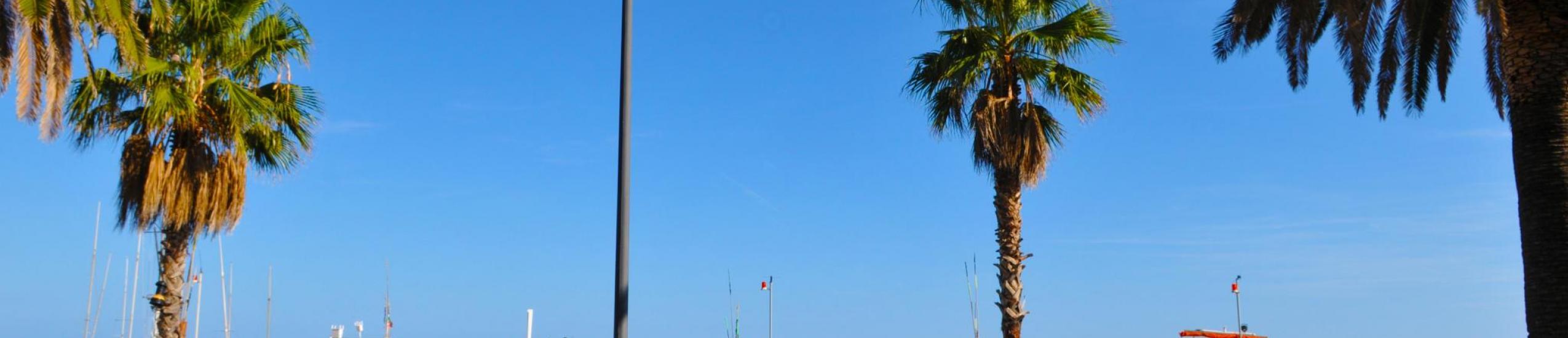 passeggiata a mare di Cogoleto