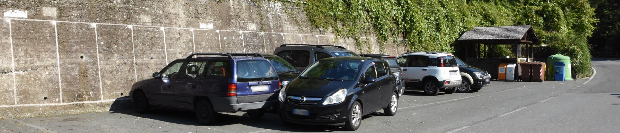 Parcheggio pubblico ad Acque di sopra