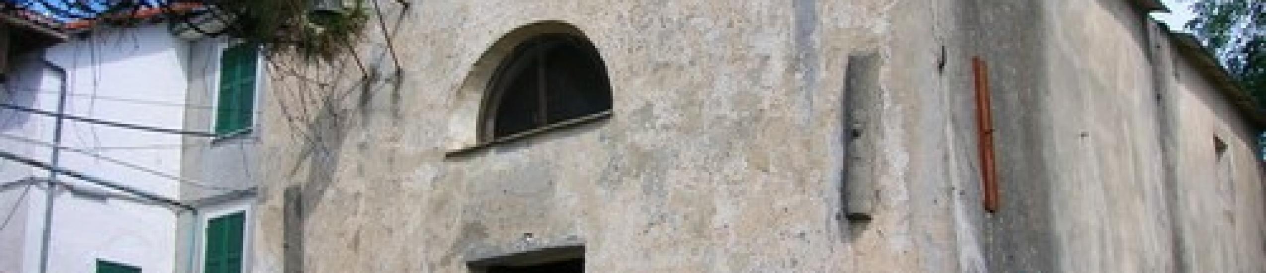 La facciata della cappella