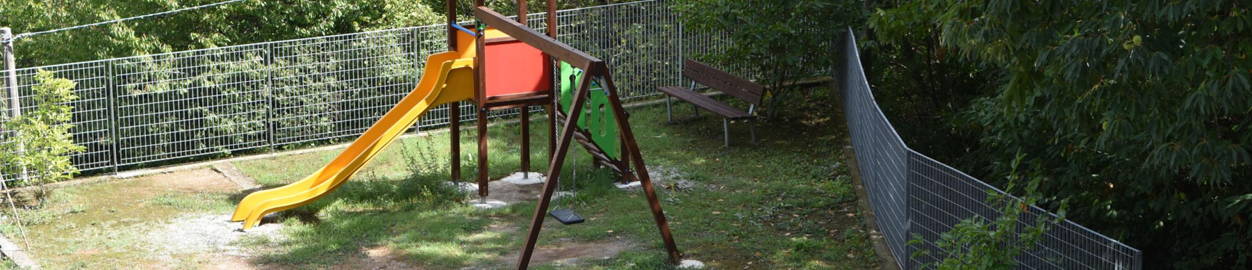 Area giochi per bambini ad Orero