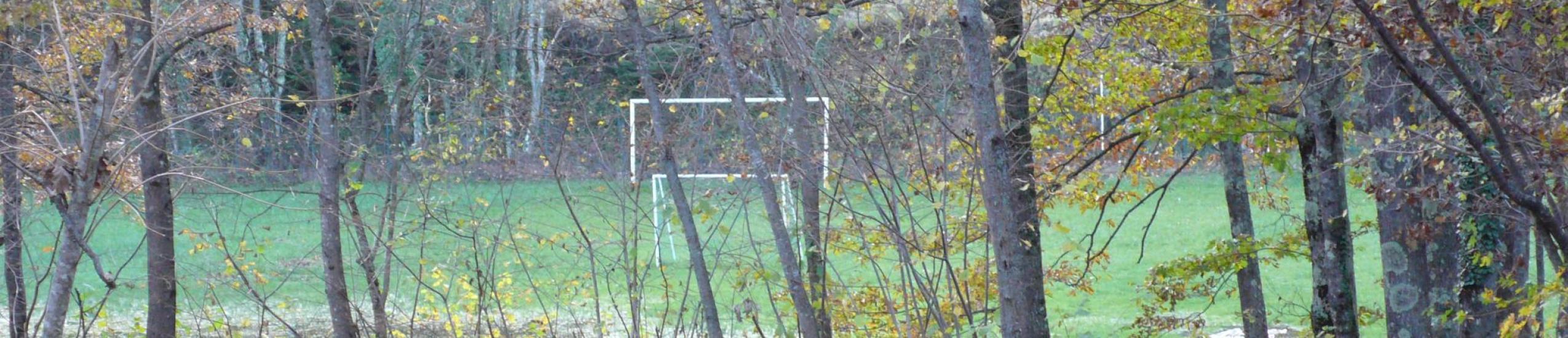 accesso al campo sportivo