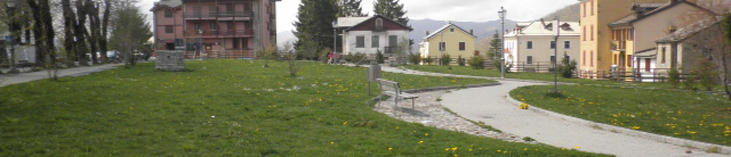 giardino pubblico Santo Stefano d'Aveto