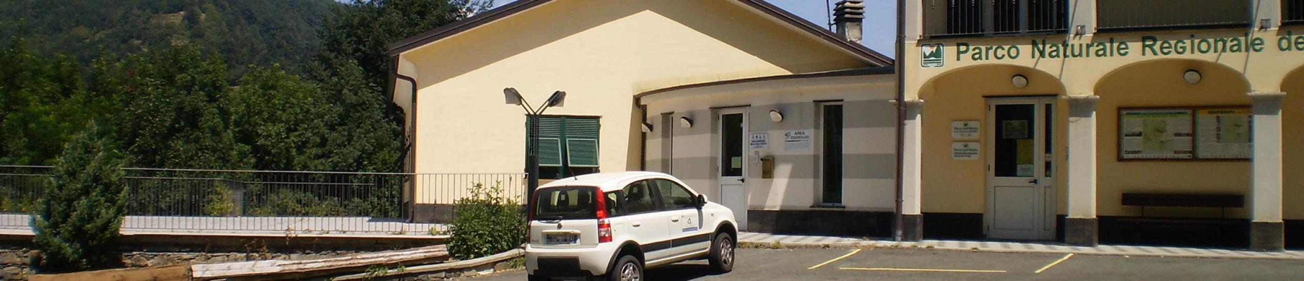 Parcheggio pubblico presso sede Ente Parco Aveto