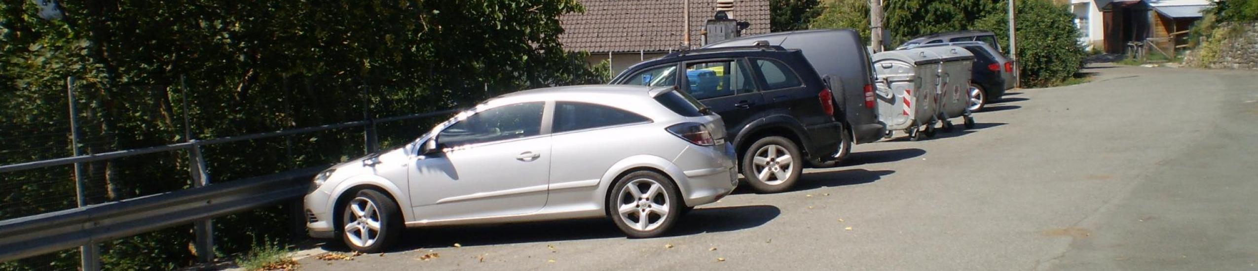 Parcheggio posto a valle