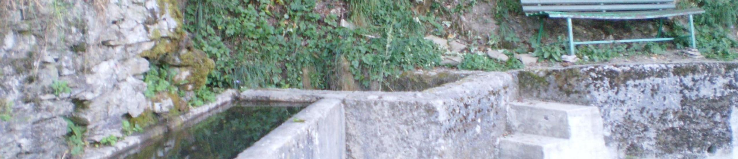 Trogolo e panchina