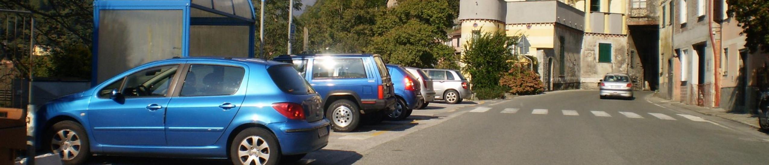Vista parcheggio