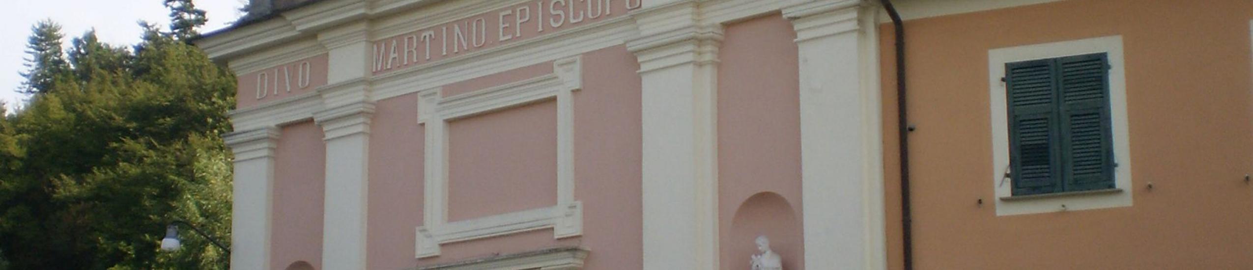 Vista della facciata principale
