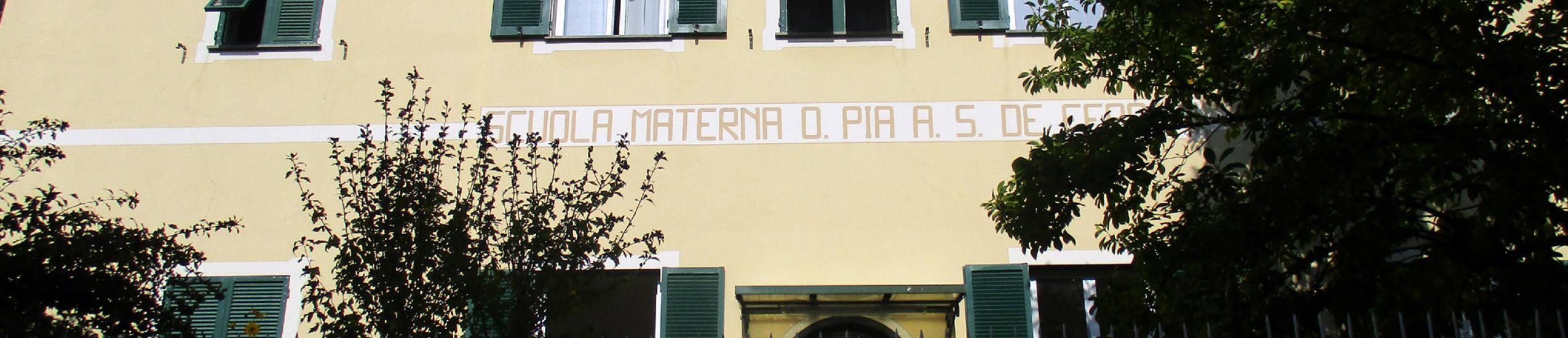 Scuola Materna Opera Pia A.S. De Ferrari