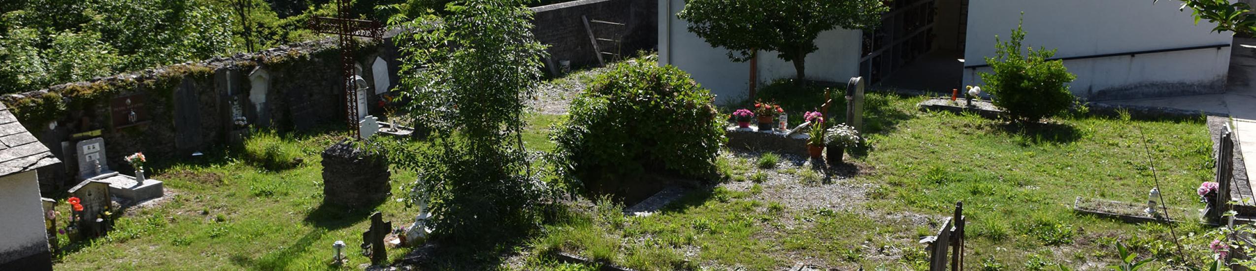 L'area cimiteriale