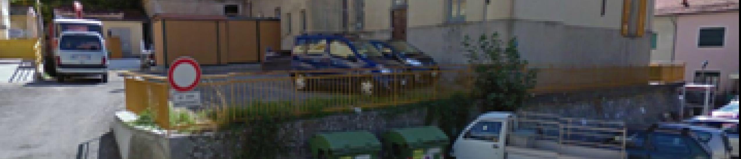 il parcheggio pubblico di pertinenza del Comune