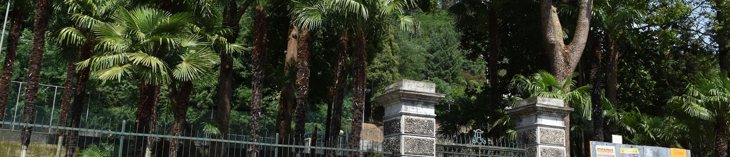 L'ingresso del parco