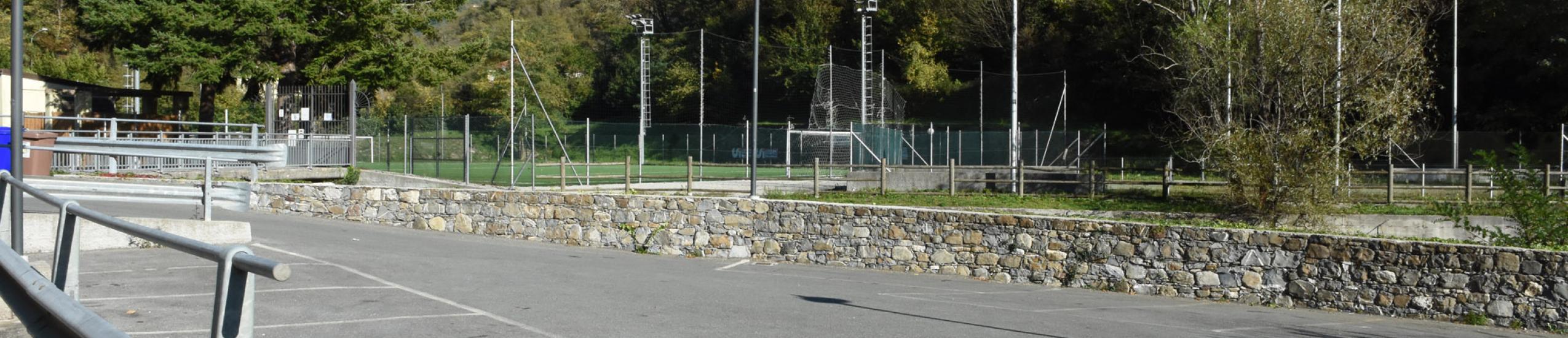 Parcheggio pubblico campo sportivo Conscenti