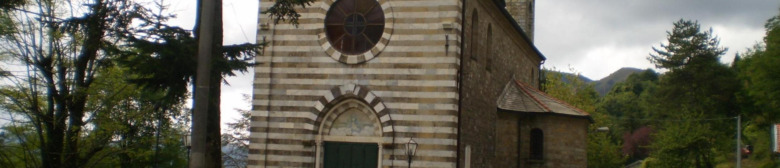 La chiesa che ospita la tappa