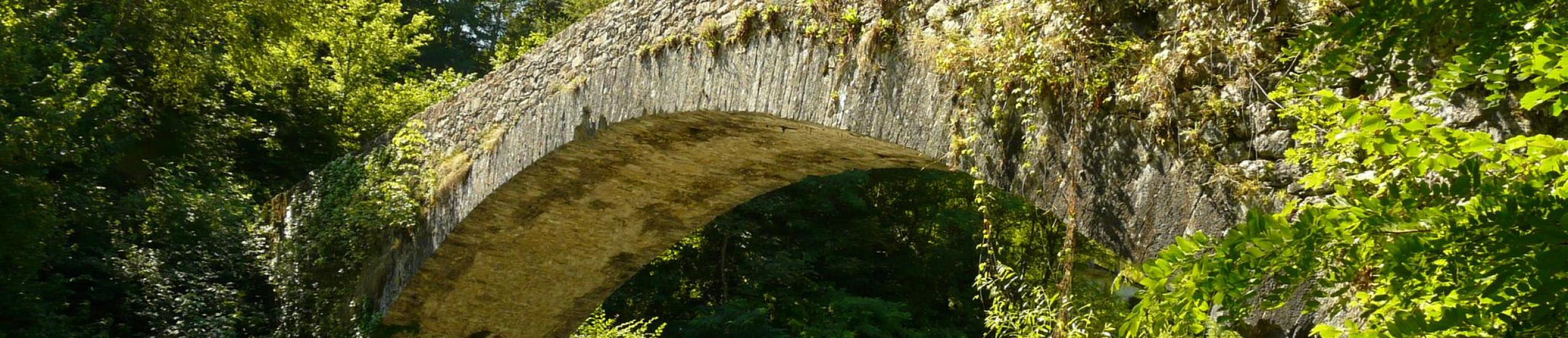 antico ponte in stile medioevale