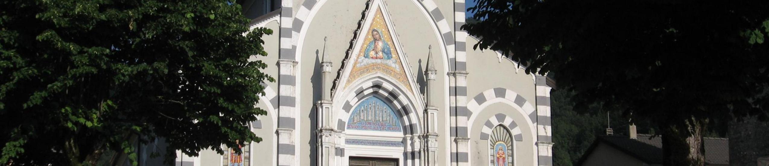 chiesa parrocchiale di santo stefano - santuario di n.s. di guadalupe