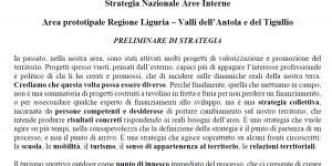 il documento preliminare di strategia
