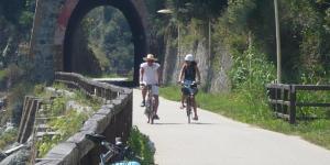 pista ciclabile tra Cogoleto e Varazze