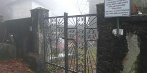 ingresso al cimitero di Fontanigorda