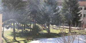 vista dall'alto del parco pubblico
