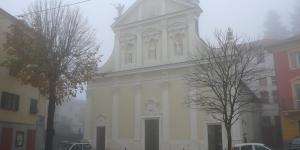 facciata principale della chiesa