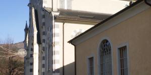 accesso alla chiesa parrocchiale