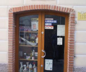 vetrina del negozio