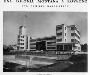 colonia di Rovegno foto storica