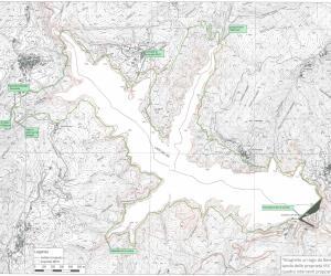 Carta lago Brugneto