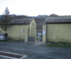 accesso cimitero Ferrada