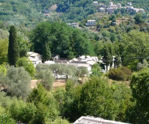 Vista del cimitero dall'alto