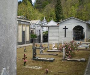 Vista interno cimitero