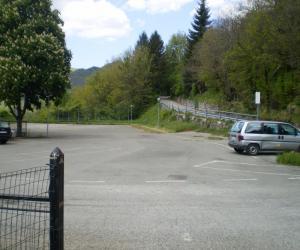Altra vista parcheggio