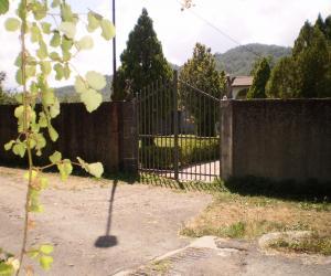 Particolare cancello d'ingresso