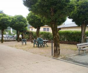 Giardini antistanti la canonica