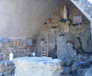 Particolare dell'altare interno