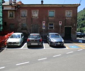 Parcheggio pubblico Comune di Tribogna