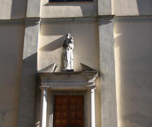 particolare della facciata principale