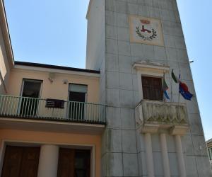 L'ingresso del Comune