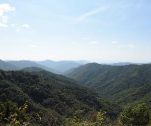 Panorama dal Passo del Portello