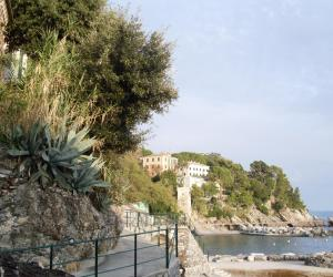 passeggiata dei naviganti, spiaggia di Zoagli (2)