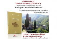 ALLA SCOPERTA DELL'ABBAZIA DI BORZONE DI BORZONASCA - Presentazione del libro 'Le pietre parlanti'