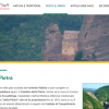 Schermata sito parco antola su castello della pietra